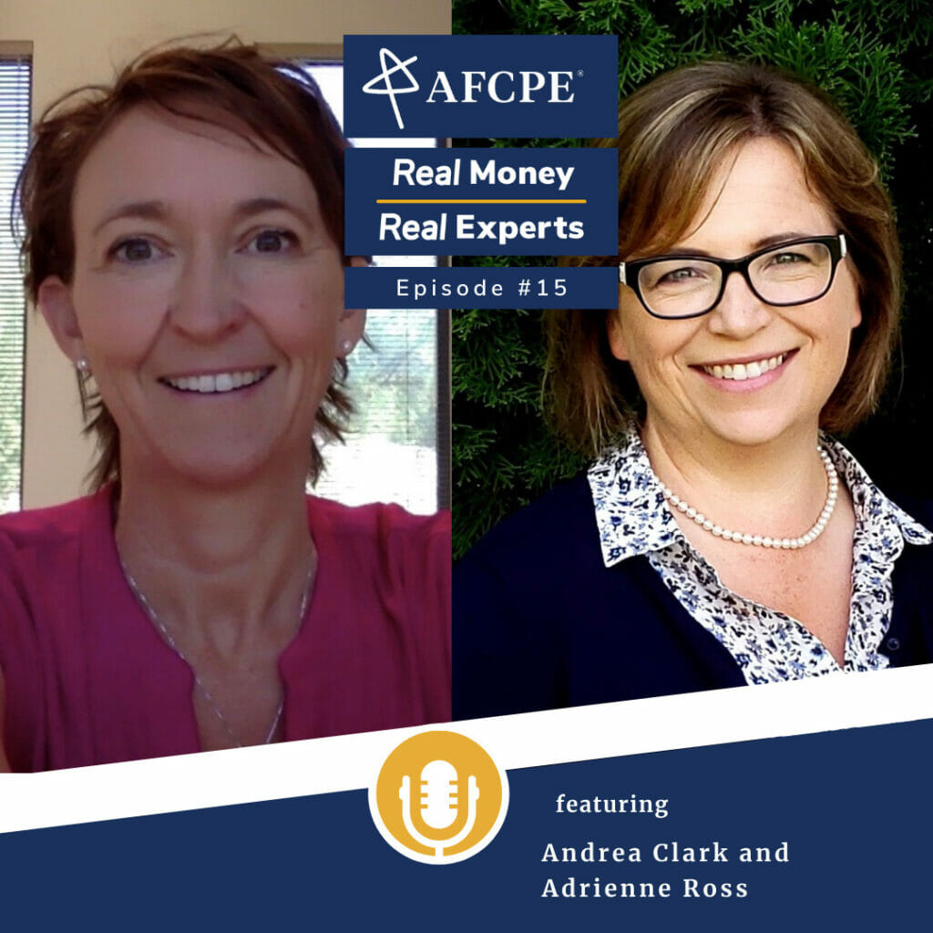 Real Money, Real Experts - accredited financial counselors Andrea Clark and Adrienne Ross