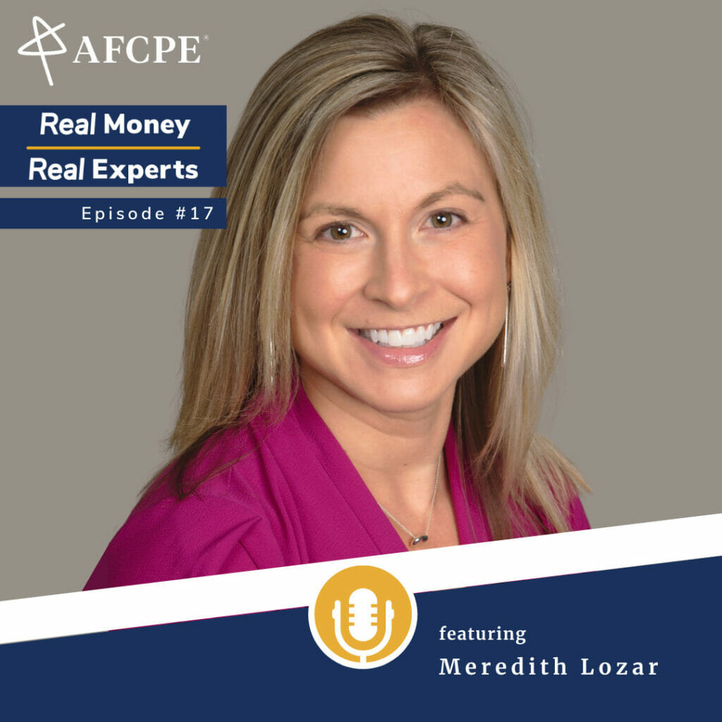 Meredith Lozar, Accredited Financial Counselor