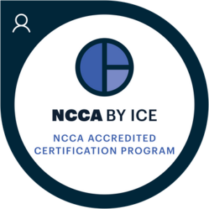NCCA Accredited Certification Program Badge