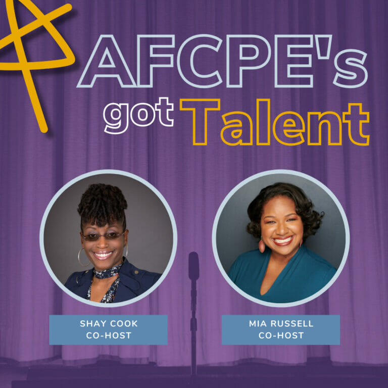AFCPE's Got Talent hosted by Shay Cook and Mia Russell