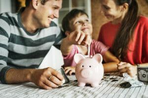 Kid earning money for future